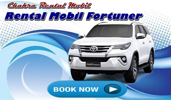 Rental Mobil Fortuner murah