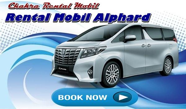 Rental Mobil alphard